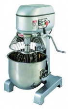 FLOOR STANDING PLANETARY MIXER - NO HUB - WITH SAFETY GRID