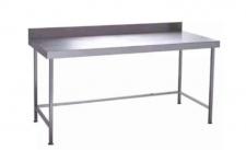 SPLASHBACK TABLE S/STEEL 1.1M