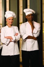 EXECUTIVE CHEF JACKETS - LADIES & MENS