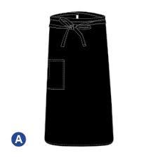 BISTRO APRONS - BLACK